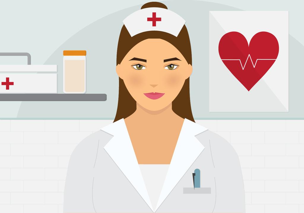 beautiful-nurse-vector